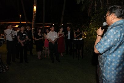 Cocktail Party – AOTCA 2011 Bali Meeting and International Tax Conference